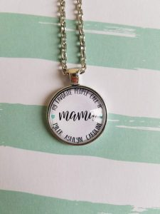 my favorite people call my mama pendant necklace from the faithful merchant gifts for mom
