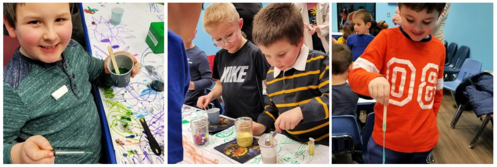 garden state discovery museum cherry hill new jersey south jersey making slime for kids birthday party